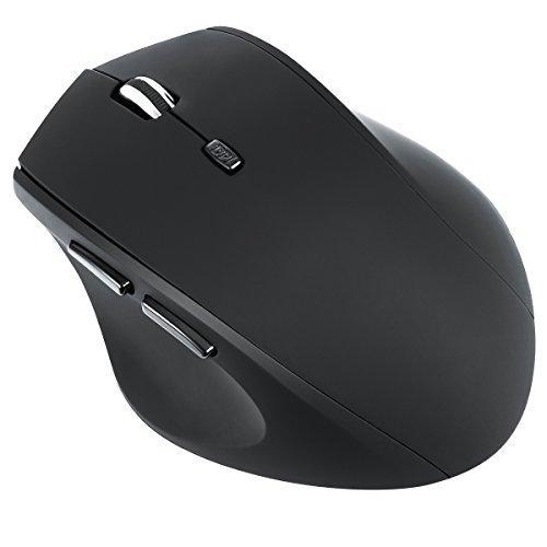 Ratón para juegos Criacr, ratones para juegos ópticos ergonómicos con cable USB, DPI ajustable 500-3200, 8 pesas ajustables + controlador programable + 6 botones programables + 5 colores personalizados en 3 modos de iluminación