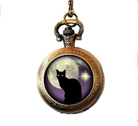 Cat Pendant Watch - 9