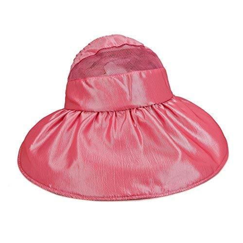 Red 1 Chuiqingnet Folding cap summer seaside sunscreen sunscreen