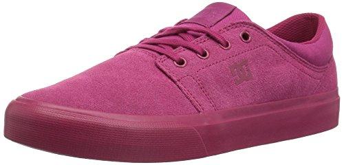 DC Trase Women's Shoe Raspberry SE Skateboarding Raspberry xfFOSxq