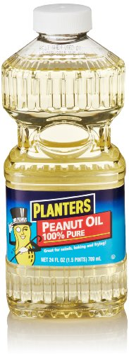 - Planters 100% Pure Peanut Oil, 24 Fl Oz