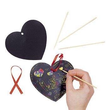 valentine's day craft hearts