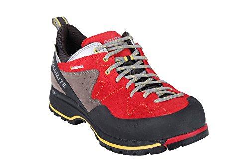 DOLOMITE Uomo 85573700–010Scarpe da trekking Capricorno Low GTX Black/Silver Red/silver Venta Barata 2018 ShvPE