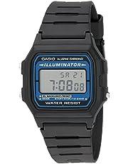 Casio Men's Illuminator Quartz Watch with Resin Strap, Black, 18 (Model: EAW-F-105W-1A)
