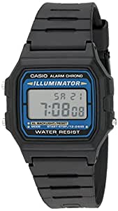 Casio Men's F105W-1A Illuminator Sport Watch