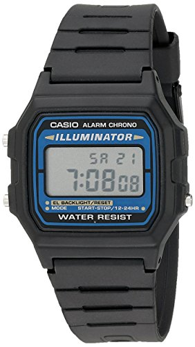 Casio Men's F105W-1A Illuminator Sport Watch (Alarm Casio Chrono)