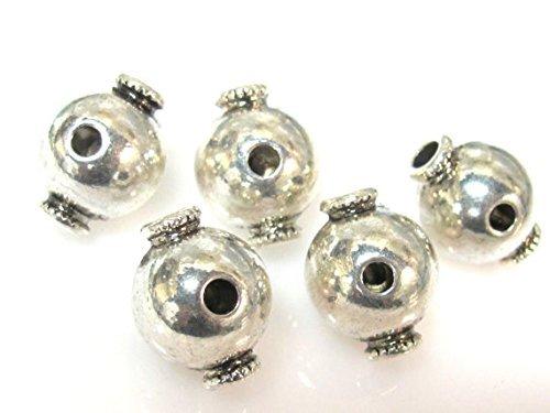 GB050 Tibetan large 3 hole Guru beads 14 mm x 18 mm 3 Guru beads