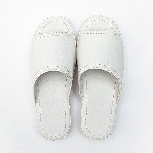 d'été à en femmes chaussures usables Pour pour option intérieures couleurs HAIZHEN bain taille facultative imperméables Chaussons Femmes PU glissants Pantoufles domicile E femmes Couples 7 qZUxYWw