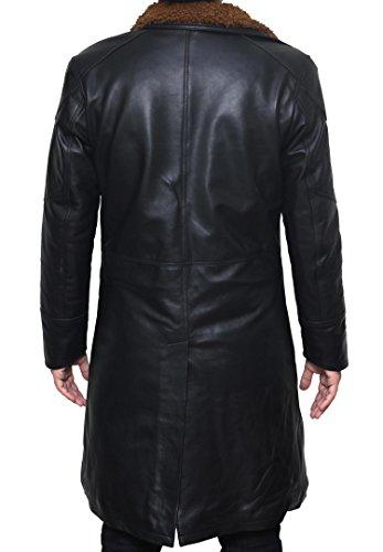 BlingSoul Blade Fur Coat Men Costume - Boys Black Leather Coat (2XL) [PU-BLRN-BL-2XL] by BlingSoul (Image #3)