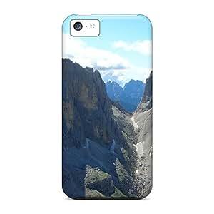 Premium Case With Scratch-resistant/ Rosetta Case Cover For Iphone 5c