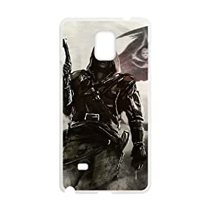 Assassins Creed Black Flag Samsung Galaxy Note 4 Cell Phone Case White gife pp001_9303544