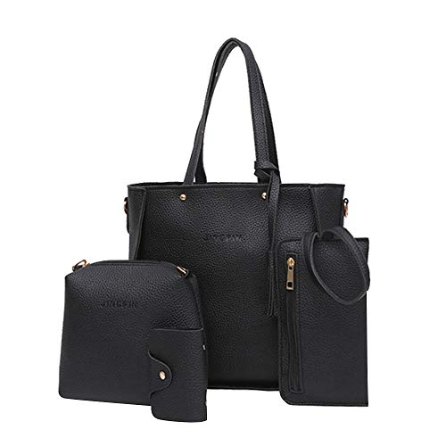 Vintage Purses Ebay - Clearance Sale! Rakkiss Shoulder Bags Handbag Four Set Four Pieces Tote Bag Crossbody Wallet Bags