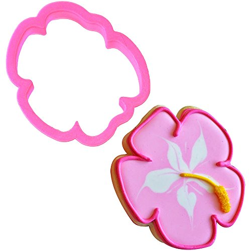 Hibiscus Cookie Cutter 3.5 in