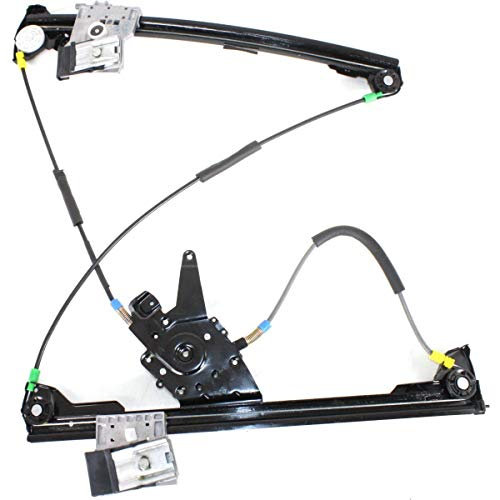 (Power Window Regulator For 95-2002 Volkswagen Cabrio Front, Driver Side)