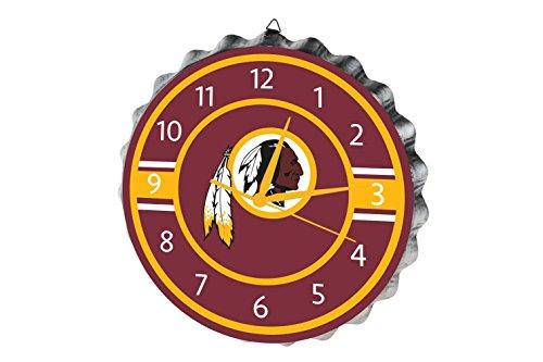 - Washington Redskins Bottlecap Clock