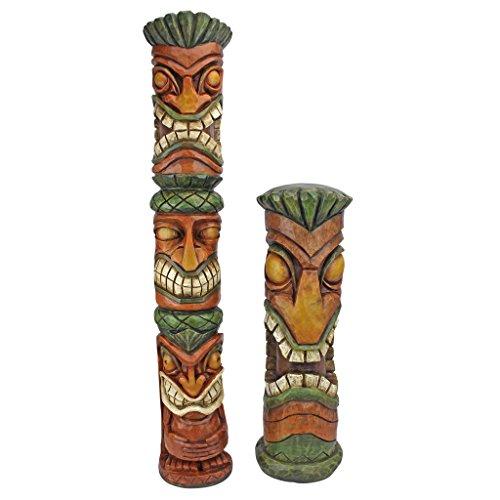 Cheap  Design Toscano Aloha Hawaii Tiki Sculpture: Set of two