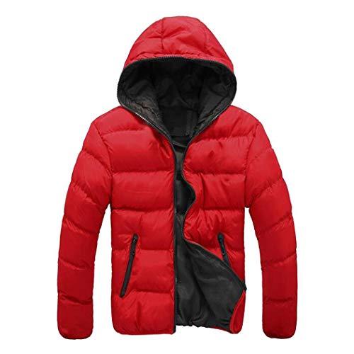 [해외]에 벨 브 맨 즈 겨울 따뜻한 후드 긴 소매 지퍼 포켓 코트 재킷 아웃 웨어 다운 / Evelove Men Winter Warm Hooded Long Sleeve Zip Pocket Coat Jacket Outwear Down