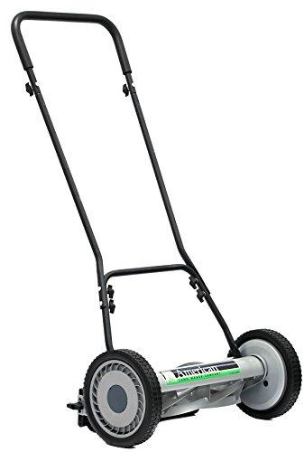 American Lawn Mower Company 1815-18 18-Inch, 5-Blade Push Reel Lawn Mower, 18-Inch, 5-Blade, Black