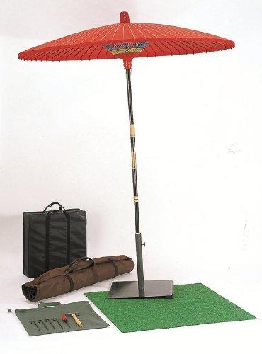 野点傘 2尺5寸(直径 137 cm)  ☆収納バック付☆ B00AJKSI6O