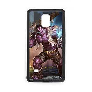 samsung galaxy note4 phone case Black League of Legends DrMundo EER7570062
