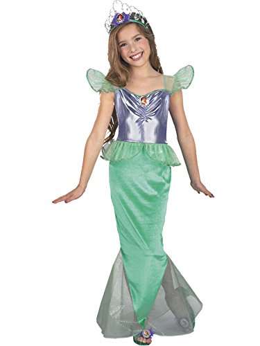 [The Little Mermaid Ariel Disney Child Standard Costume] (The Little Mermaid Costume)