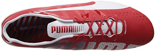 3 PUMA High White Evospeed Silver Estate Ground Red Firm 1 Soccer Men's Empire Metallic Risk Yellow Blue CtqntRA