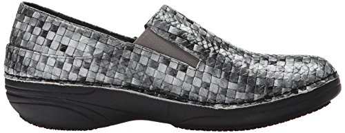 Spring Step Women's Ferrara Work Shoe Gray/Multi Basketweave