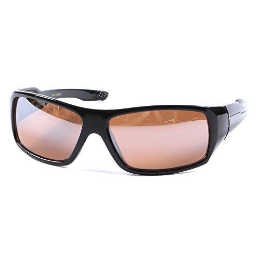 lumière UV400 Homme Lunettes Noir pochette Miroir enveloppantes de bloquant Argent bleue soleil nbsp;lentille clair Conduite 8USRqw8xP