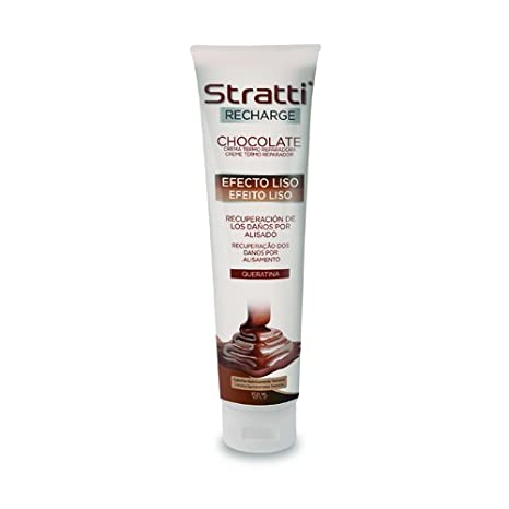 Stratti Chocolate - Carga de Keratina Efecto Liso - 150 ml: Amazon.es: Belleza