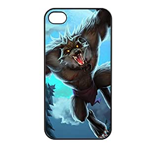 Warwick-008 League of Legends LoL case cover for Apple iPhone 4 / 4S - Plastic Black