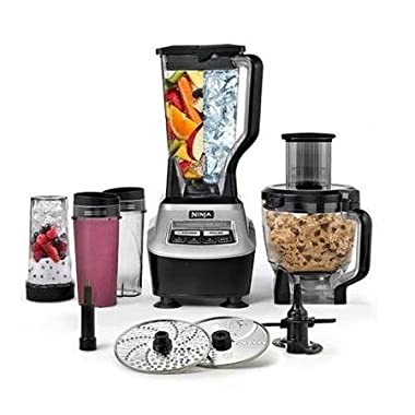 NEW Ninja BL773CO Mega Kitchen System 1500W Food Processor Total Blender Package