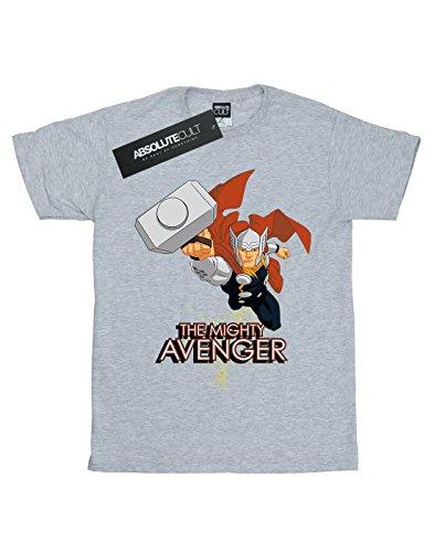 Marvel shirt Sport T The Garçon Mighty Avenger Thor Gris rwxYHrqTU