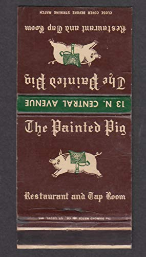 The Painted Pig Restaurant & Tap Room 13 N Central Ave Clayton MO matchcover ()
