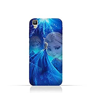 Oppo F1 TPU Protective Silicone Case with Frozen Elsa Design