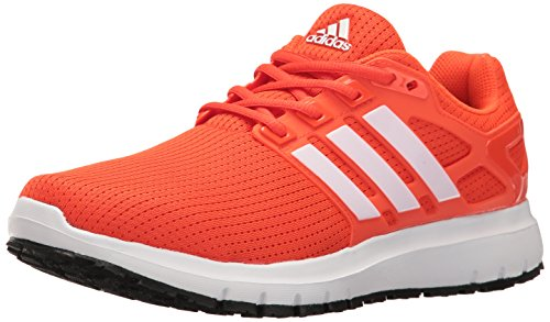 adidas Men's Energy Cloud WTC Running Shoes, Energy/Footwear White/Core Black, 11 M US