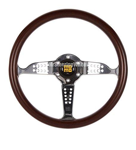 momo steering wheel wood - 5