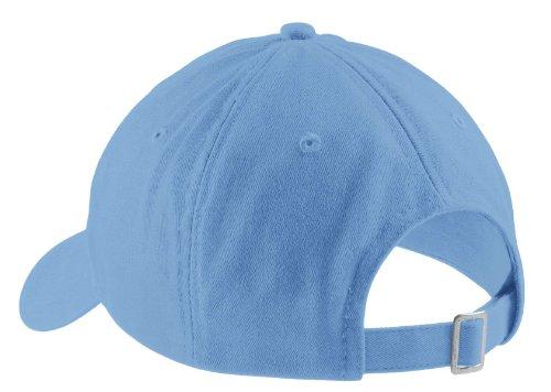 Port & Company - Brushed Twill Low Profile Cap. CP77 - Carolina Blue_OSFA