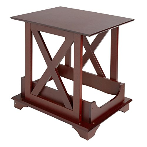 Hot Sale! Best Dog Wood Crate Bed Indoor Pet Cage Wooden Furniture End Table Removable