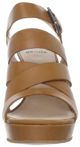 Bronx Womens Smart One Ankle-Strap Sandal Brown OZjm2X83qt