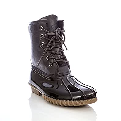 Amazon.com | Charles Albert Women's Lace-Up Insulated Mid