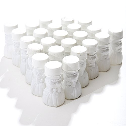 Gown Bubble - Wedding Gown Bubble Bottles, pack of 24