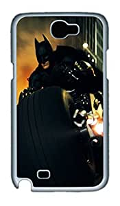Batman The Dark Knight Rises Polycarbonate Hard Case Cover for Samsung Galaxy Note II N7100 White by Maris's Diaryby Maris's Diary