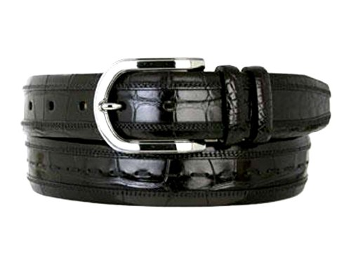 Mezlan Men's 8869 Belt Black 42