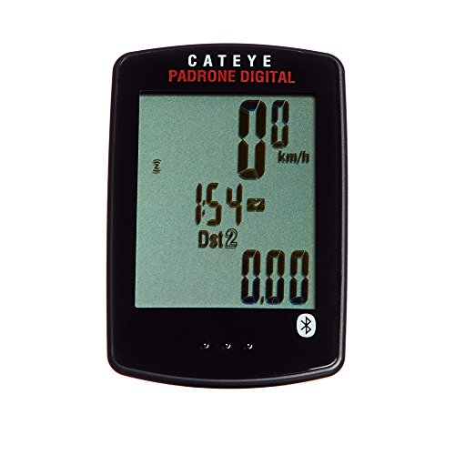 CAT EYE   Padrone Digital Double Speed and Cadence Bike Computer, Black -