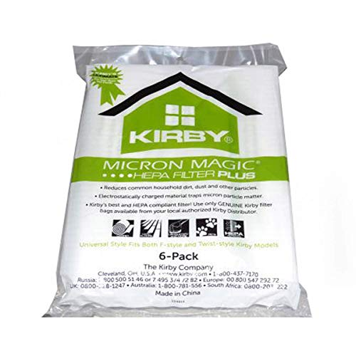 Kirby Micron Magic Micro Allergen Plus HEPA Vacuum Filter...