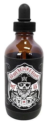 Grave Before Shave Beard Bottle