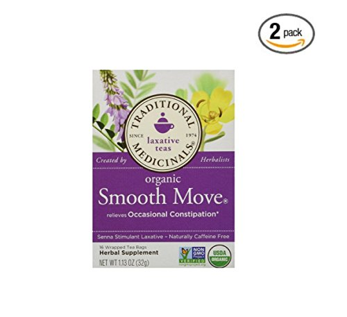 Traditional Blends Tea's-Smooth Move - 16 - Bag (Pack of 2) Smooth Move Laxative