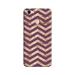 Cover It Up - Brown Purple Tri Stripes F5 Hard case