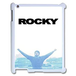 Ipad 2,3,4 2D Personalized Hard Back Durable Phone Case with Rocky Image