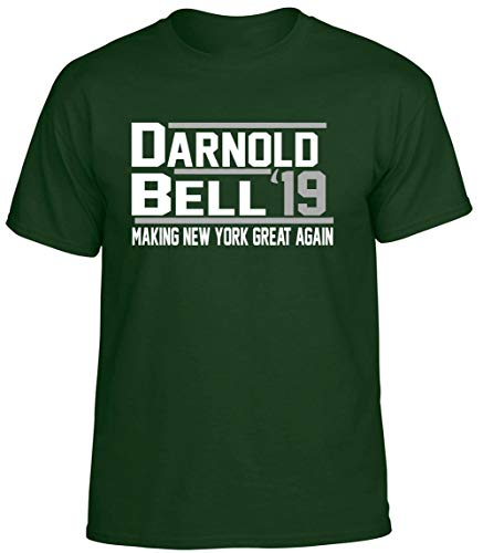 (Forest New York Darnold Bell 19 T-Shirt Adult )